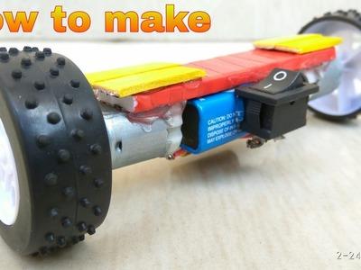 How to Make HOVERBOARD  - [ DIY scalemodel ]