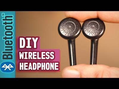 How to make your  Headphone Wireless (Even Broken Headphone)- DIY LIFE HACK 2