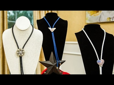 How To - Orly Shani's DIY Bolo Ties- Home & Family