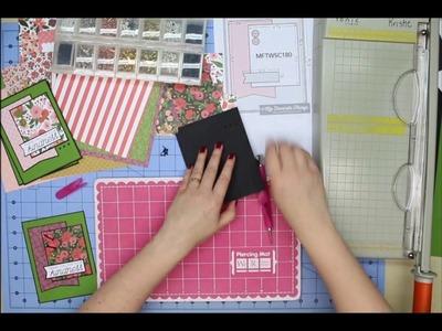 Kristie Marcotte's 6x6 Paper Pad Tutorial Series - Part One