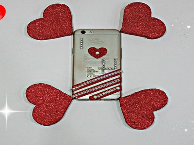 LAST MINUTE  DIY PHONE CASE.YOU NEED TO TRY!FOR BFF,BOYFRIEND,GIRLFRIEND.VALENTINE'S DAY.BIRTHDAY.