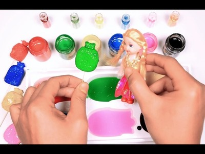 Learn Rainbow Colors with Play Doh Paint Palette and Water Paint ♥ Fun & Easy Play ♥ RainbowLearning