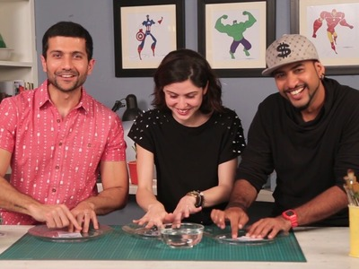 Mad Stuff With Rob | DIY Sticky Tape Transfer Feat. Sherry Shroff & Vaibhav Talwar