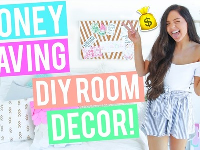 MONEY SAVING DIY Room Decor 2017. Cheap and Affordable - Pinterest + Tumblr Inspired