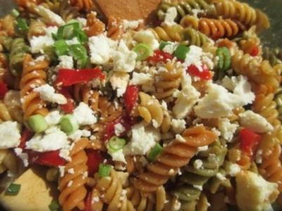 PASTA SALAD - How to make BALSAMIC VINEGAR PASTA SALAD Recipe