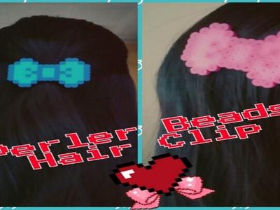 Perler Beads Hair Clip