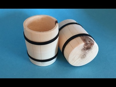 Polymer Clay Miniature 1 to 12  -  Making A Barrel