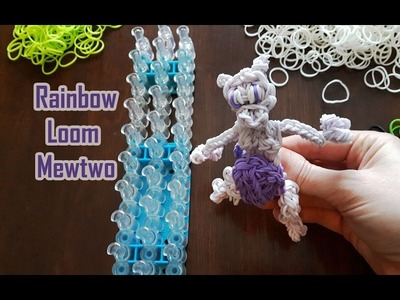 Rainbow Loom Mewtwo