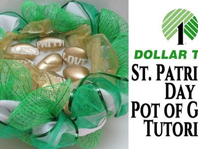 Saint Patricks Day Dollar Tree Crafts Ideas