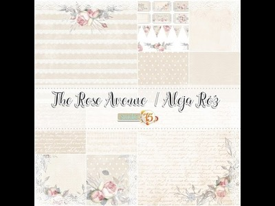 Studio75 The Rose Avenue Paper Collection Flip Thruough