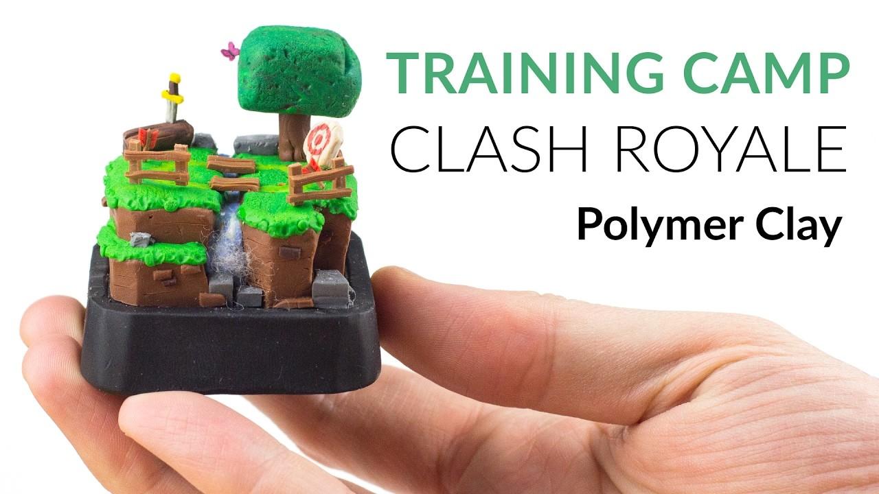 Training Camp (Clash Royale) – Polymer Clay Tutorial