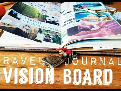 Traveler's Notebook- DIY Vision Board