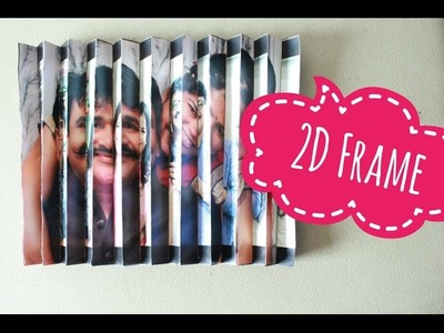 2D Frame | Handmade Gift | DIY