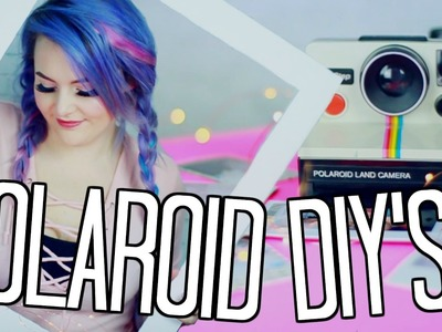 5 Polaroid Hacks and DIY's You HAVE to Try!!