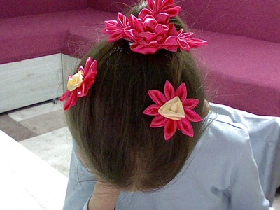 *Diy accessories for hair kanzashi*