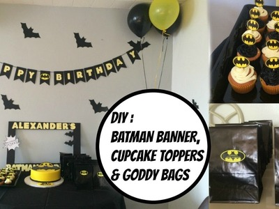 DIY: Batman party ideas