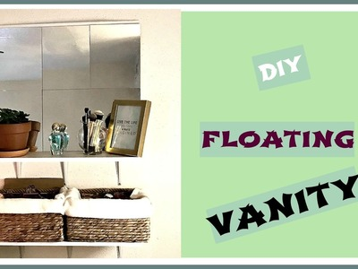 DIY Floating Vanity
