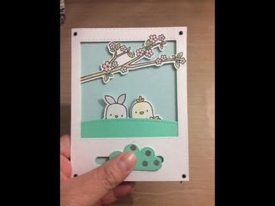 DIY Interative Pop-up Slider Card