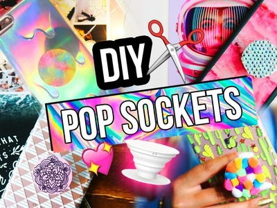 DIY POPSOCKETS FOR YOUR PHONE!