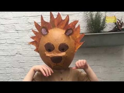 How to make a lion costume | World Book Day