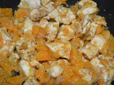 How To Make Pumpkin & Chicken | CWF