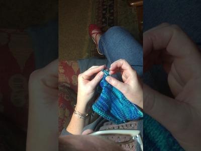 Instructions for Irish Cottage Knitting, Lever Knitting, Speed Knitting, Pit Knitting