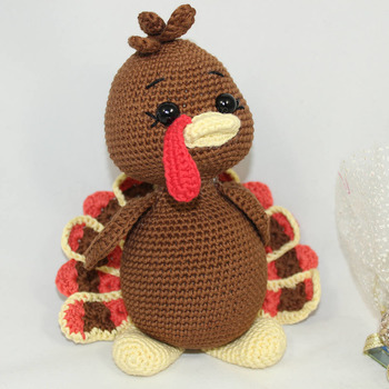 mr. turkey Amigurumi Crochet Pattern PDF