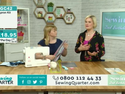 Sewing Quarter  - Happy Birthday Simply Sewing Magazine - 10th Feb 2017