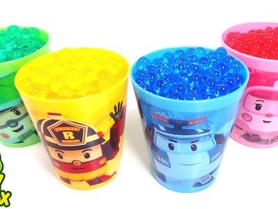 StressBall Clean Bag Orbeez DIY Surprise Eggs Learning Colors Poli SpongeBob Cup