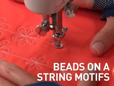 Beads on a String Motifs & Variations | Free Motion Quilting (FMQ) Tutorial with Christina Cameli