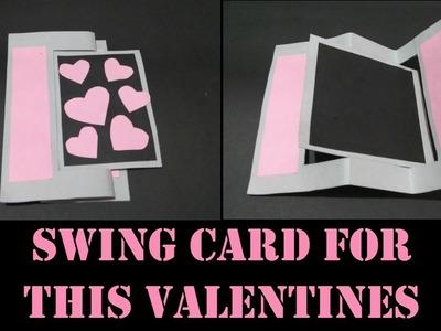DIY Gifts| Swing card tutorial| Creative greeting ideas.