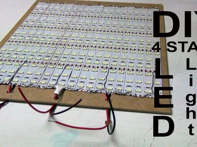DIY LED Light with 4ch Remote Control (improved) (MEHS) Episode 59