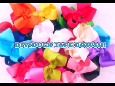 DIY!|LPS DUCT TAPE BOWS (NO SEW)