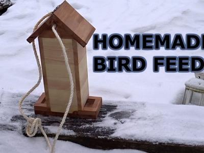 DIY simple bird feeder.