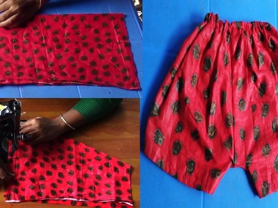 How to Cutting and Sewing Baby Pants at Home by NT Fashion Point