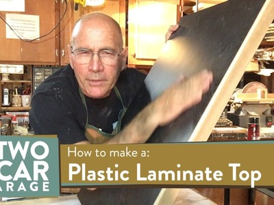 How to make a plastic laminate top