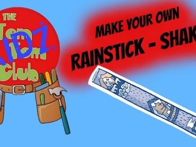 Make Your Own Pre School Kids Musical Instrument   DIY Rain Stick Shaker!