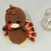 mr. turkey Amigurumi Crochet Doll