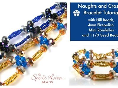 Naughts and Crosses Bracelet Tutorial