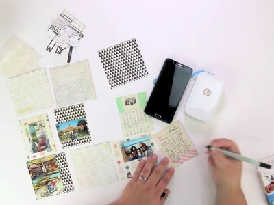 Scrapbooking on the Go with HP Sprocket