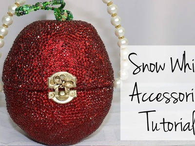 Snow White Accessories Tutorial - Purse, Crown, Necklace & Shoes