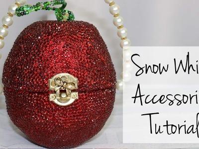 Snow White Accessories Tutorial - Purse, Crown, Necklace & Shoes