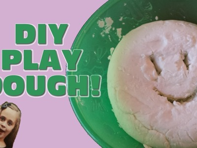 SOFT SCENTED DIY 2-Ingredient Play Dough. PinkPantha. Ep. 2