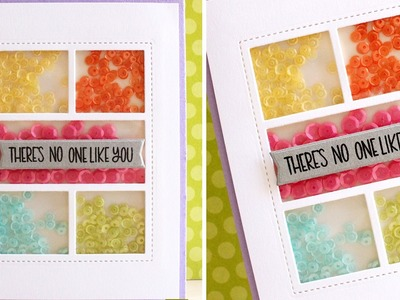 Spring Shaker Card Tutorial by Pretty Pink Posh