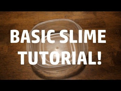 Basic Slime TUTORIAL!. by @SlimeClouds