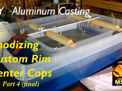 DIY Aluminum Casting - Custom Rim Center Caps P4 (FINAL) - MSFN