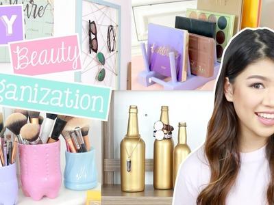 DIY Beauty Organization Ideas!! (SM Department Store, Ace Hardware Philippines)   Janina Vela