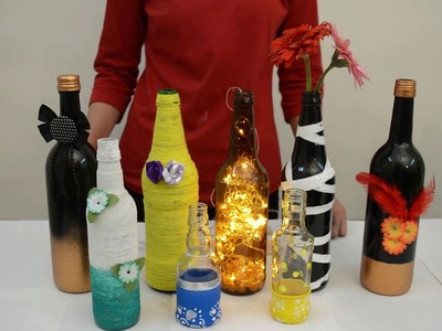 Floma DIY Projects | Wine Bottle Crafts Presented By Ms. Ashwini Rathi