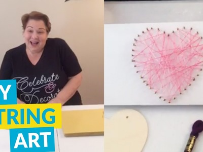 Great DIY String Art Project