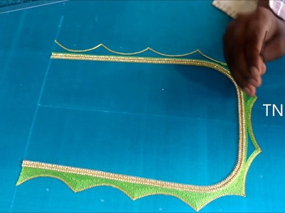 Hand embroidery tutorial for beginners,embroidery designs for blouse,easy hand embroidery tutorial